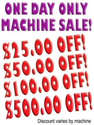 Janome Machine Sale!