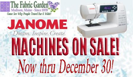 Holiday Machine Sale!