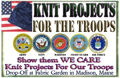 Knit Projects for the Troops