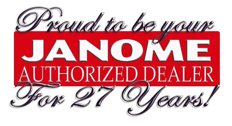 Janome Dealer for 27 years
