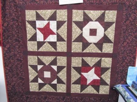 Buck-A-Block Primitive Quilt