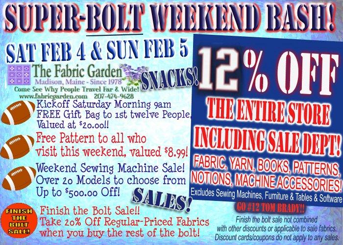 Super Bolt Weekend!