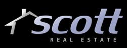 Scott Logo on Black BG