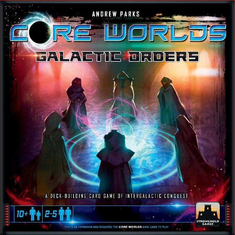 Core Worlds: Galactic Orders boxtop