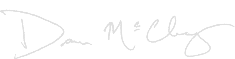 signature grey text