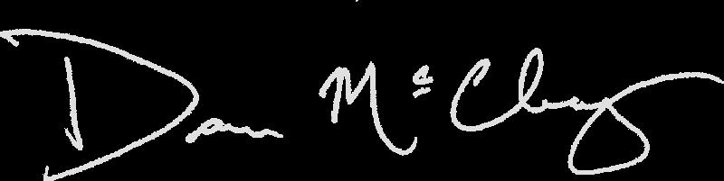 signature grey text