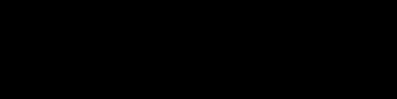 black text signature