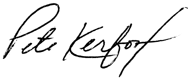 pete kerfoot signature