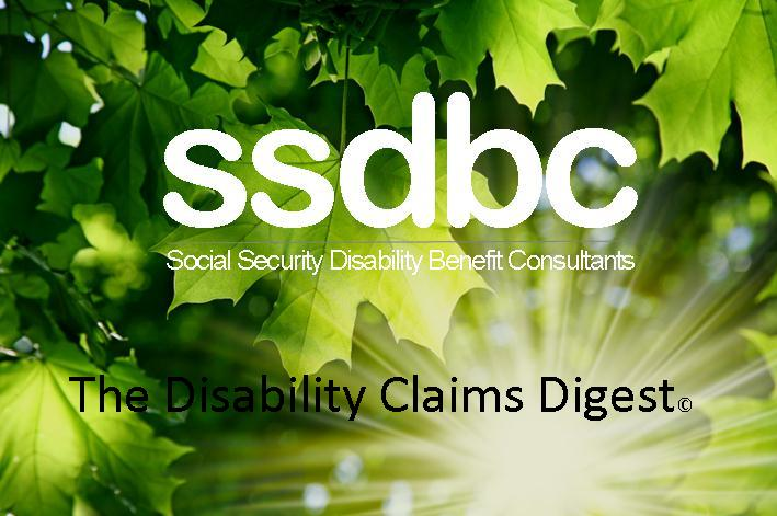 The Disability Claims Digest Archival Photo