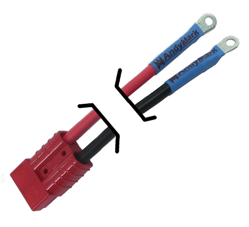 Custom Battery Cables : Custom length robot battery cables now available
