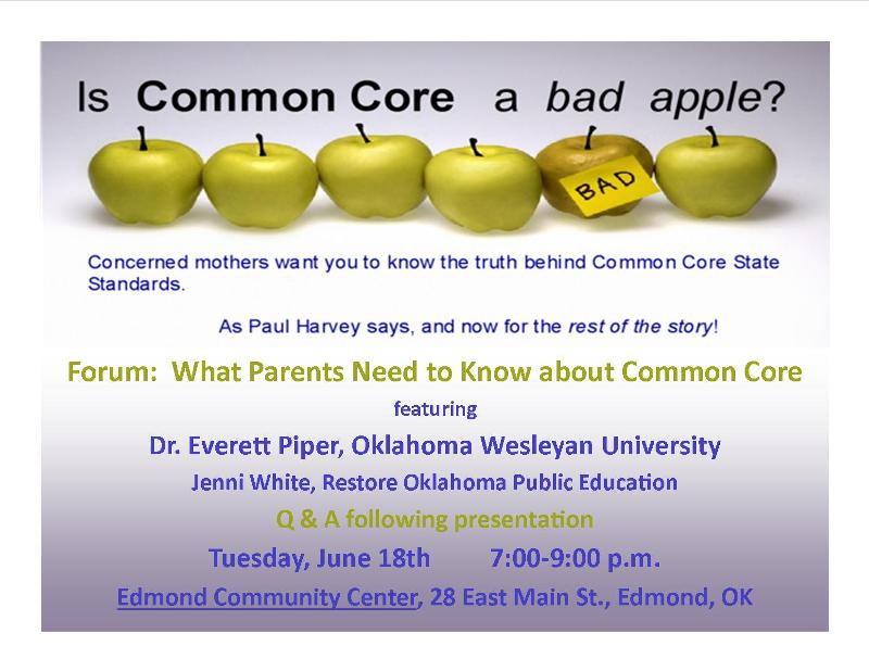 Common Core Forum