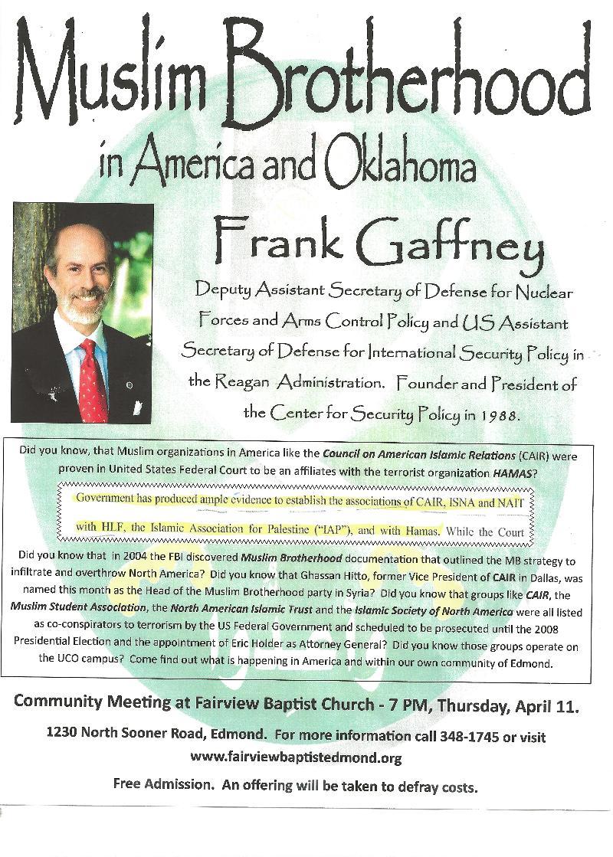 Muslim Brotherhood in America and Oklahoma