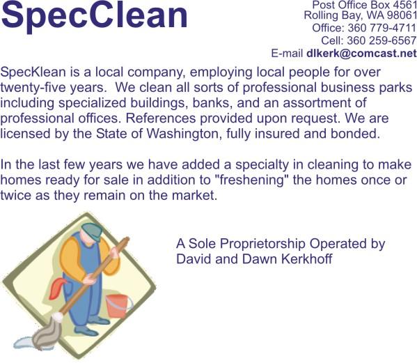 speckclean