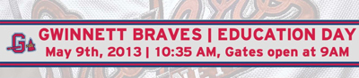 GBraves Education Day Banner