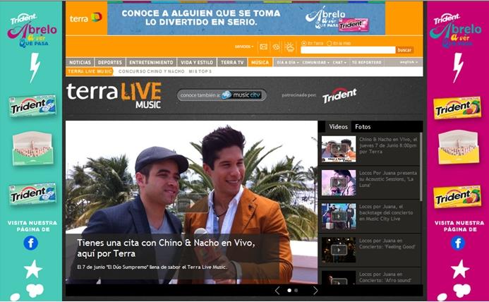 Chino y Nacho Terra Live