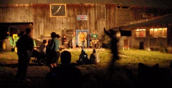 Barnyard concert