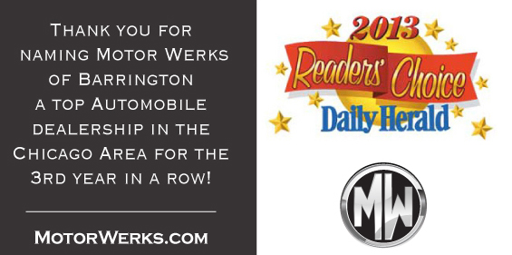 Motor werks of barrington june newsletter for Motor werks cadillac of barrington barrington il