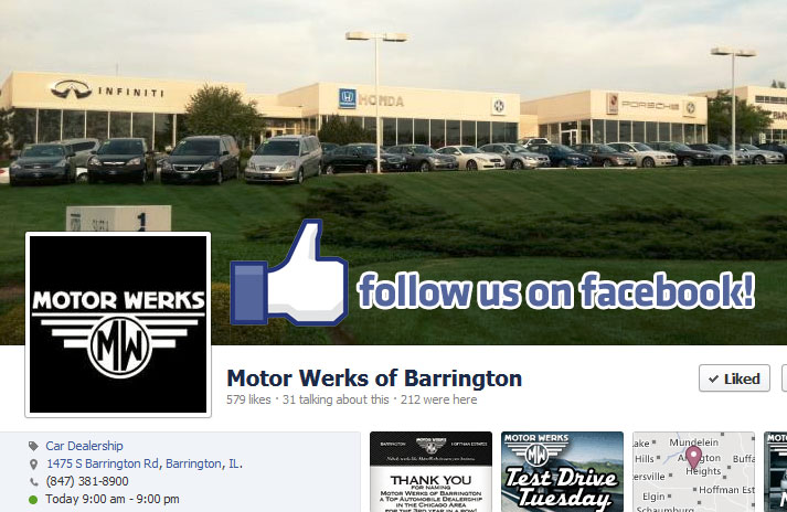 Motor werks of barrington march newsletter for Motor werks barrington used cars
