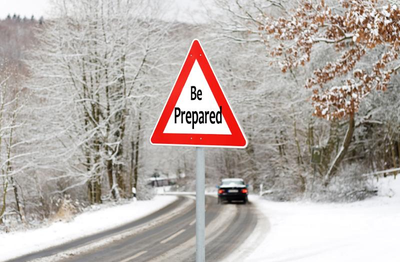 Be prepared for winter driving