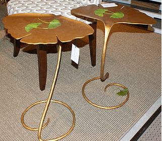 Gingko leaf tables