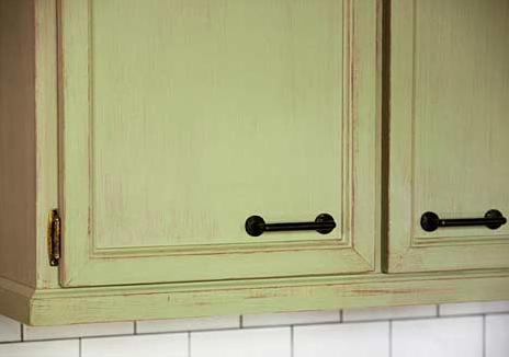 Rothesay kitchen cabinet detail