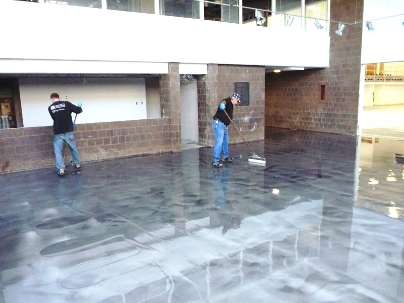 Awesome Decorative Concrete Floors