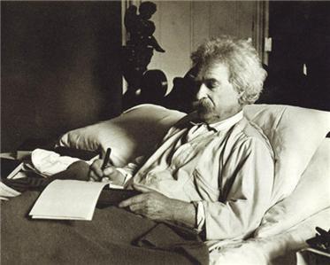 Twain writing