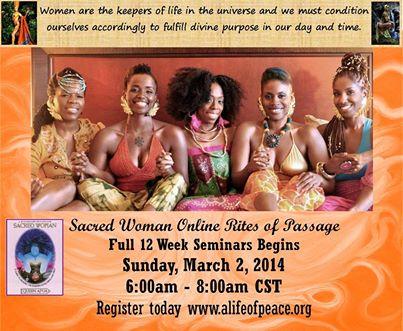 QUEEN SACRED AFUA WOMAN