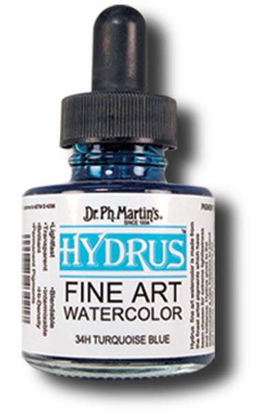 hydrus watercolors