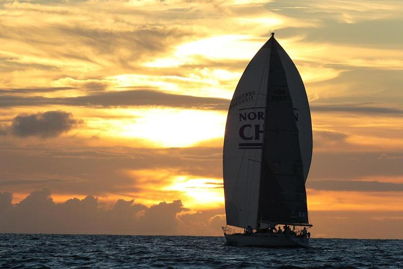 Northern Child racing in the 2012 edition of the RORC Caribbean 600