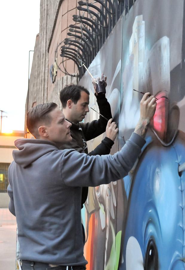 Greg painting