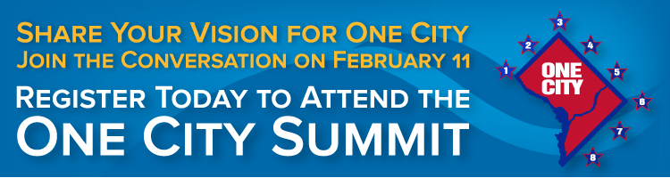 Register to Attend the One City Summit