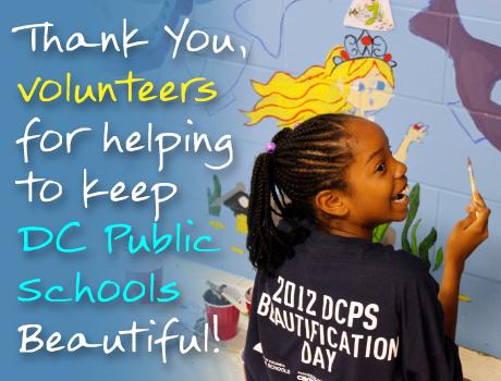 Thank you, DCPS Volunteers