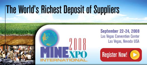 MineExpo 2008