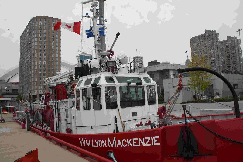 Toronto Fire Department Boat