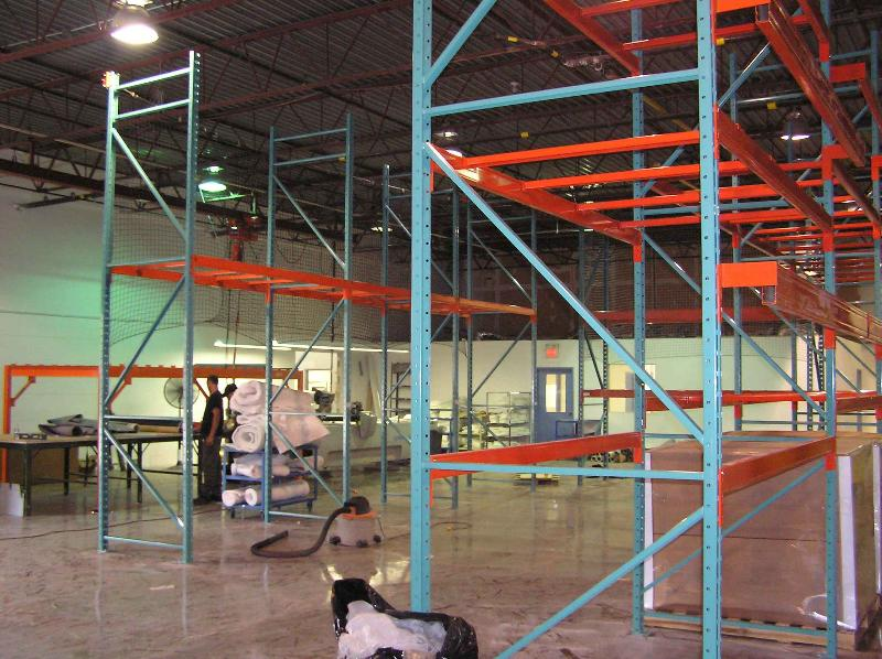 New factory storage