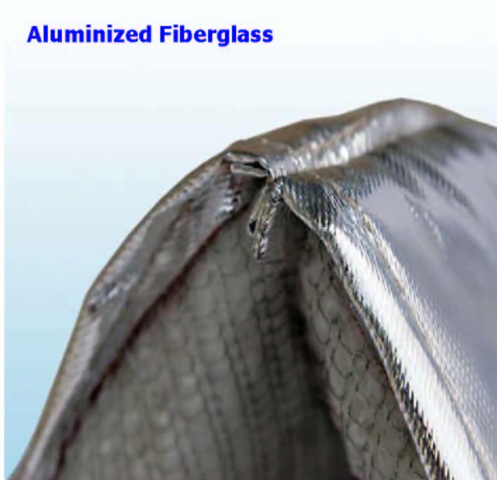 Aluminized Fiberglass Outer Cover