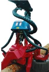 Heavy duty spiral warp on machinery