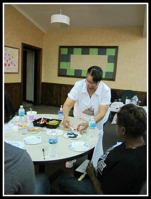Yvonne Greer Oct 2012 training