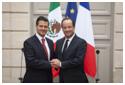 Hollande y Pe�a
