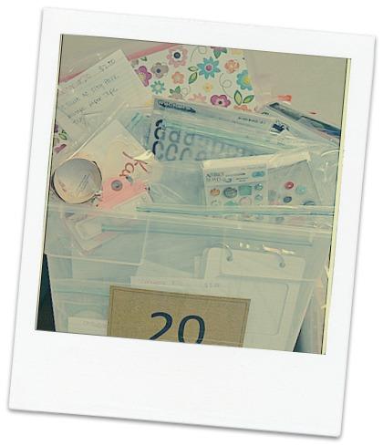 Consignment Sale Bin #20