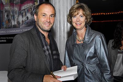 Colum McCann Signing for Barbara Drummond Mead