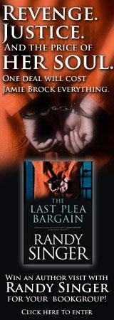 The Last Plea Bargain by Randy Singer (Banner)