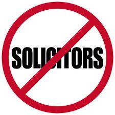 do not solicit