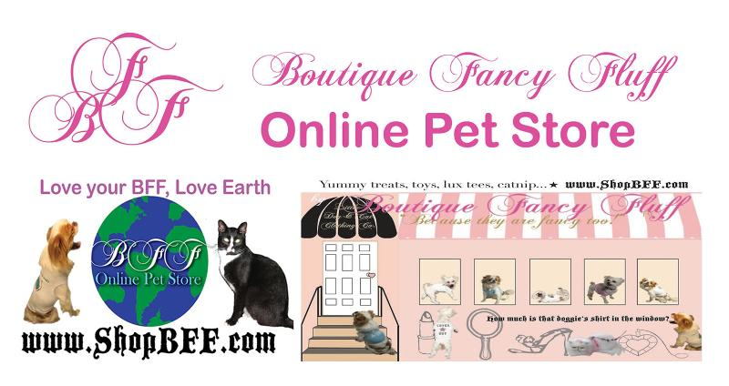 BFF Boutique Fancy Fluff Love your BFF, Love Earth