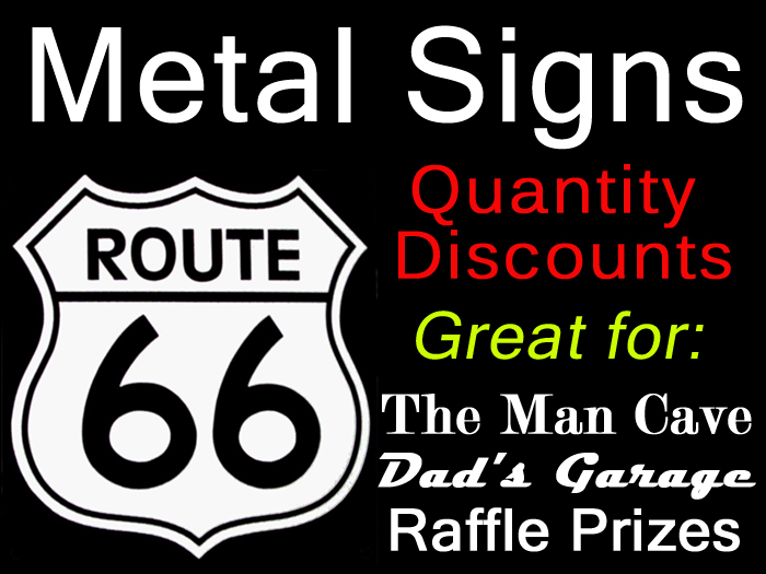 metal sign discounts