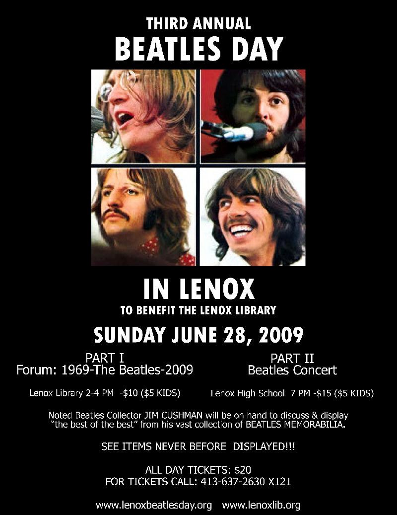 Beatles Day poster