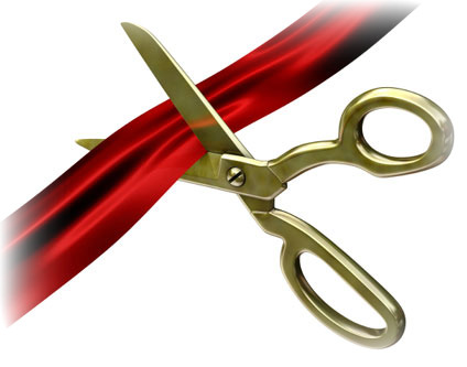 Ribbon Cutting 2