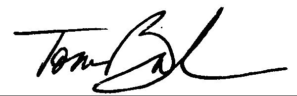 Tom Breedlove's Signature