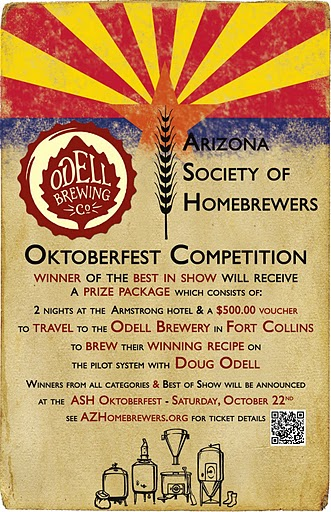 Oktoberfest Competition Poster